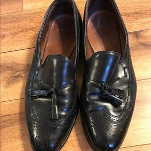 Allen Edmonds 12 D Black Tassel Dress Shoes